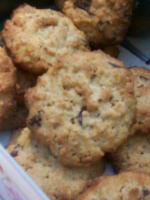 Finalmente sola a casa = biscottiii!