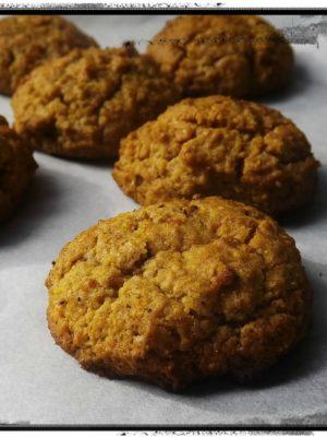 Scient of autumn. Biscotti di carote e farina di castagne.