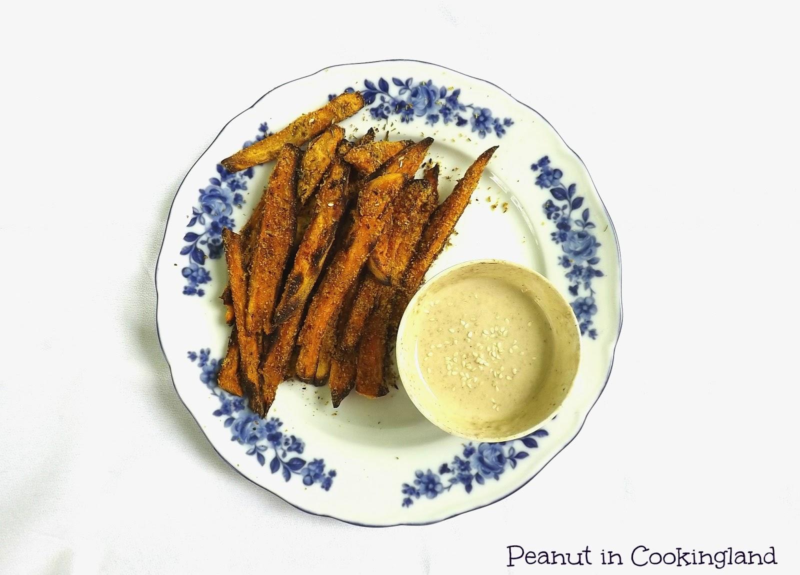 Sweet potato oven baked fries