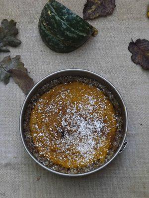 Meglio pumpkin che mais (Raw Pumpkin Pie)