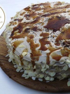 Deviazioni di percorso (Torta di zucca con farina di castagne con buttercream al caffè e crema di marroni)