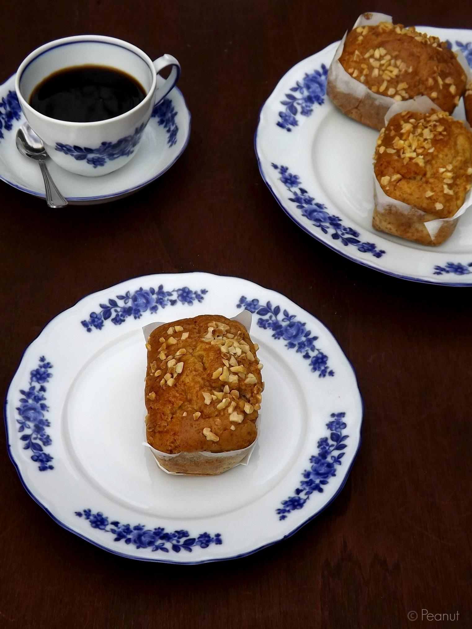 Mini plumcake alla vaniglia senza uova, con milk roux