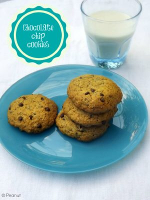 Rivincite. Con dei chocolate chip cookies vegani.