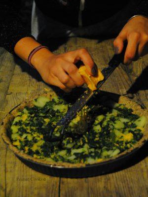 A volte ritornano: il forno & Nocciolina. Torta salata gluten free di bietole e patate