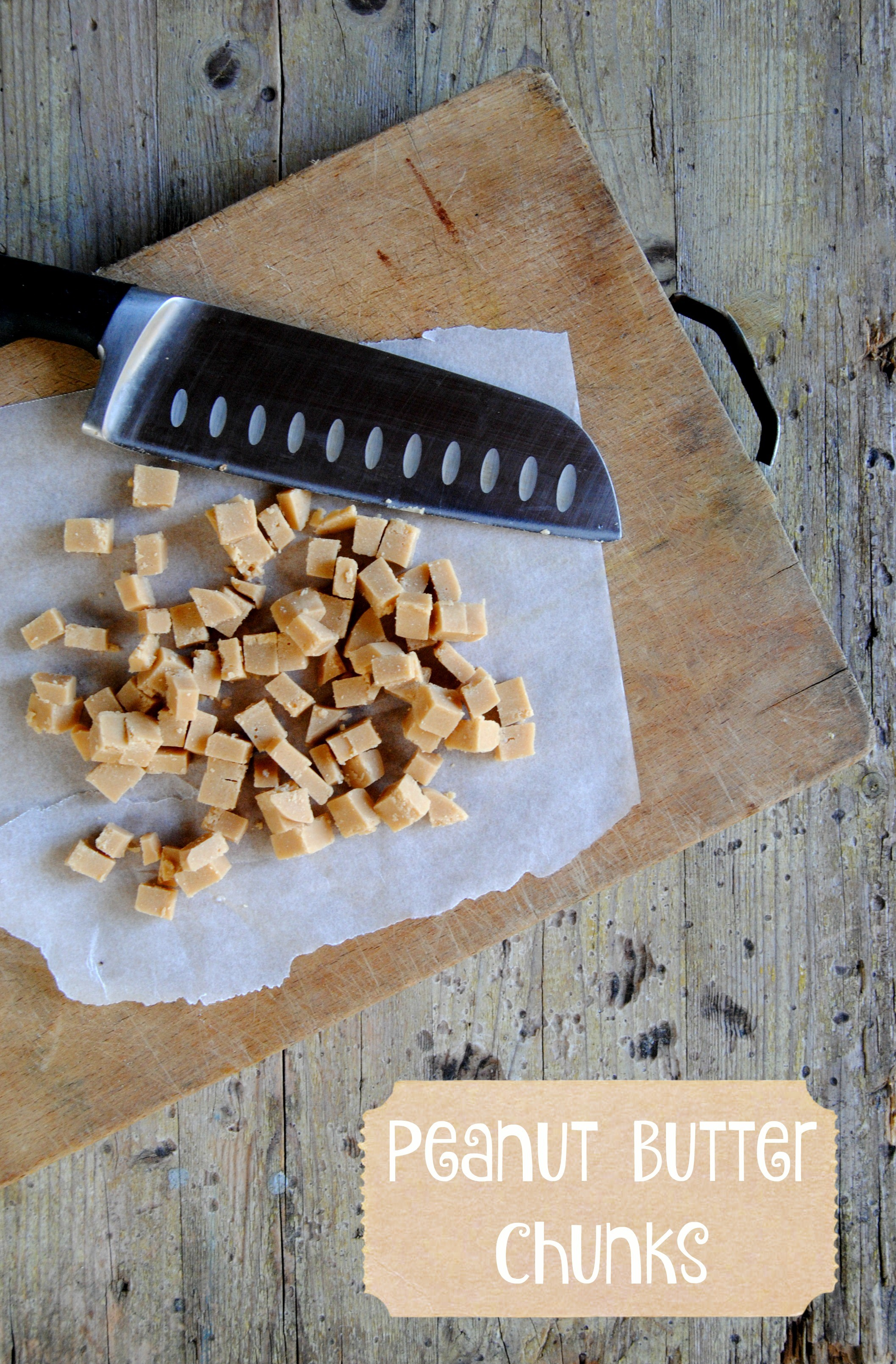 gocce di burro d'arachidi