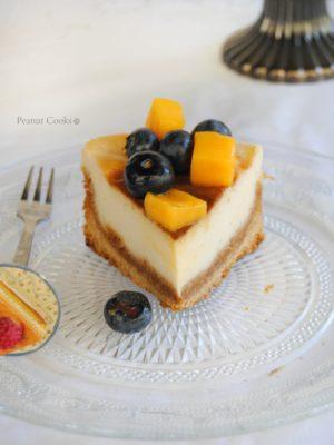 Cheesecake vegan classica e la (in?)sana irragionevolezza.
