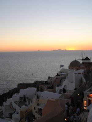 La magia di Santorini