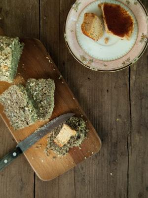 Multiseed paleo bread
