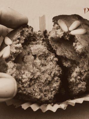 Perchè alla fine son castagnole pure le mie: muffin con farina di castagne e crema di marroni