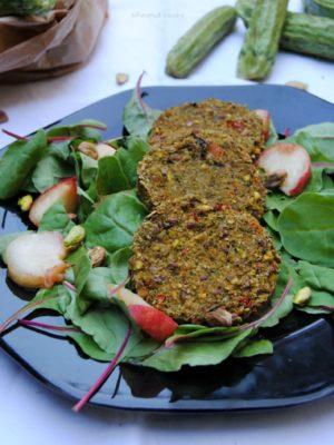 Burgers crudisti di zucchine e sliding doors.