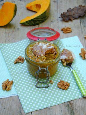 Zucca a colazione: un chia pudding ottobrino